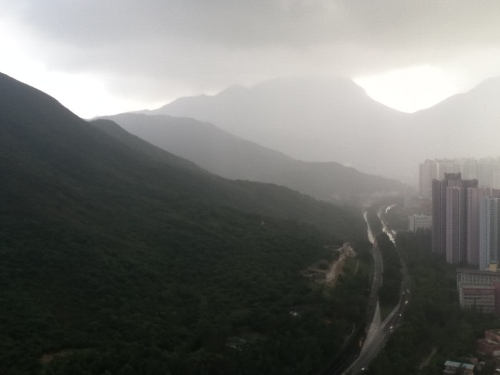 Mountains in the Rain